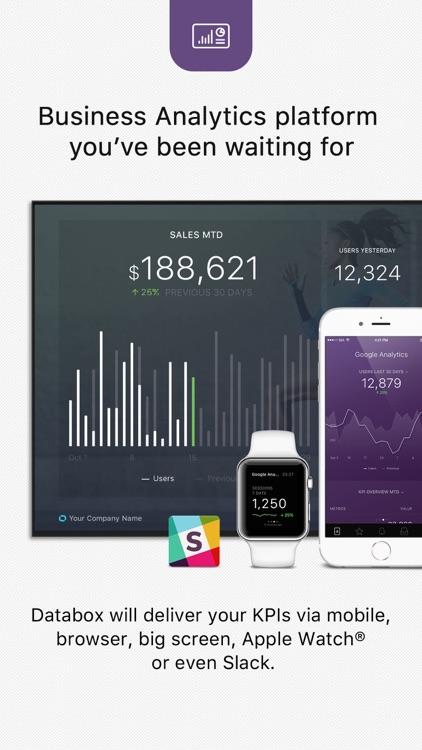 Databox: Business Analytics Dashboard
