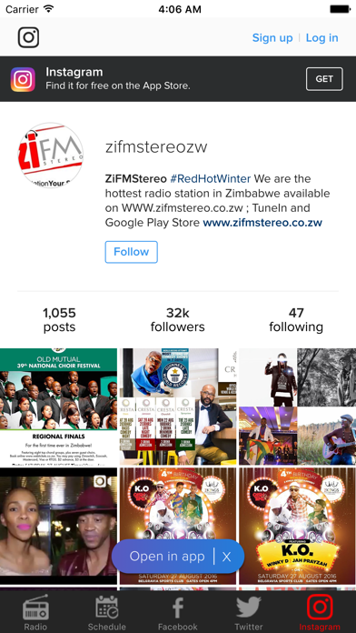 ZiFM Stereo screenshot two
