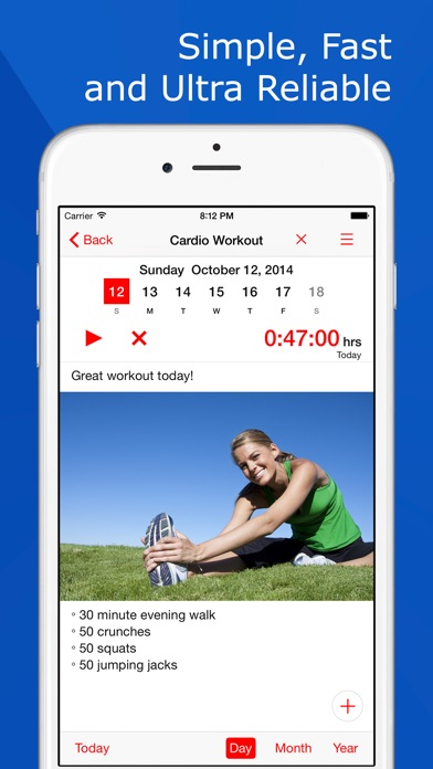 Fitness Tracker: Workout Plan app image