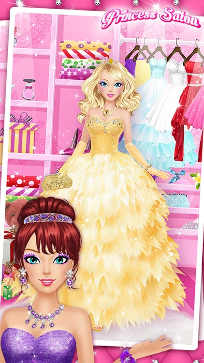 Princess Salon™ - Girls Makeup, Dressup and Makeover Games screenshot-3