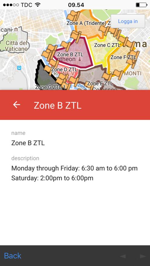 Zona traffico limitato - ZTL - Italy - avoid ticket App 截图