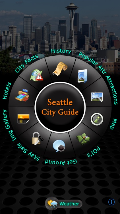 Seattle Offliine Map Travel Guide