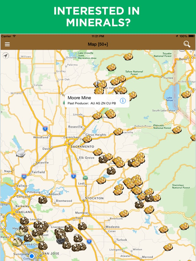 Diggers map find minerals on the app store diggers map find minerals on the app store gumiabroncs Choice Image