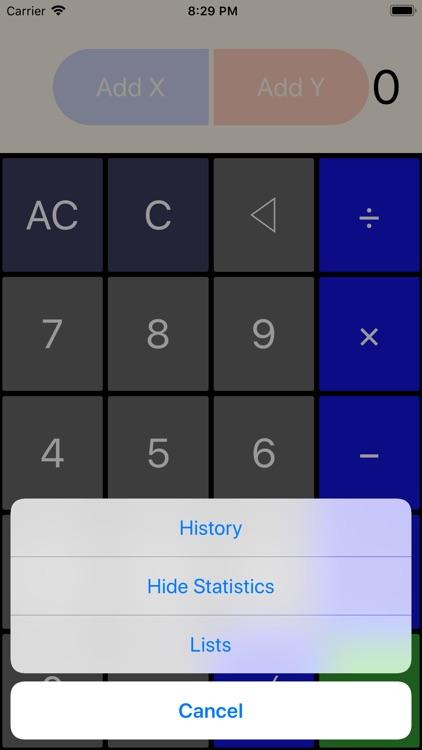 Statistics Calculator++ screenshot-7