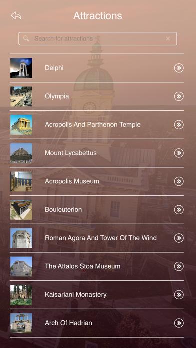 Athens Tourist Guide screenshot three