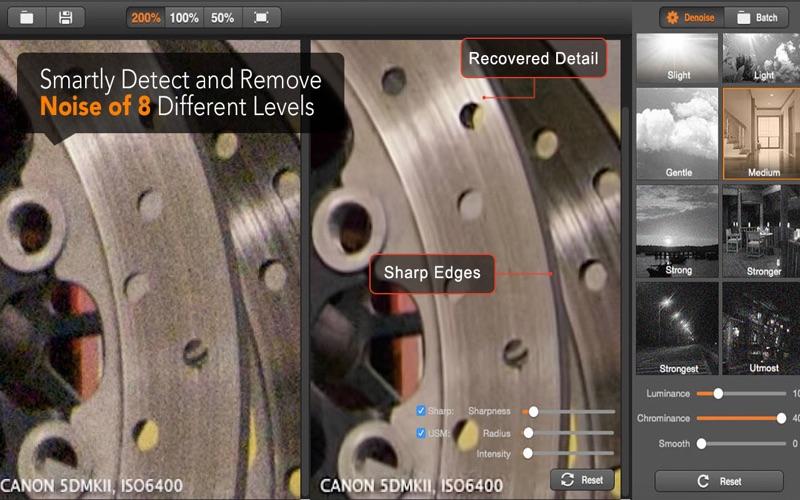Super Denoising – уменьшение шума изображения Screenshot