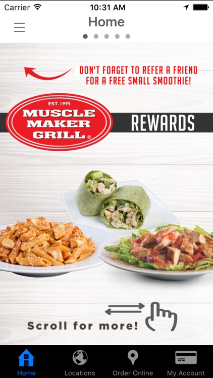 Muscle Maker Grill Rewards