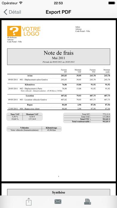 download Mes notes de frais Pro apps 0