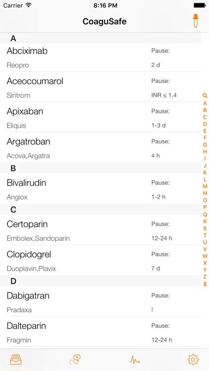 CoaguSafe - Anticoagulant