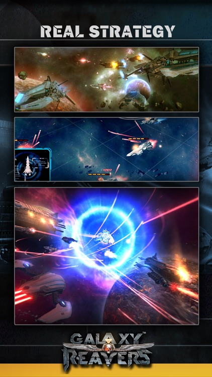 Galaxy Reavers-Space Strategy game(RTS)