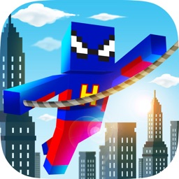 Superhero Swing - Pocket Edition Rope n Fly Game