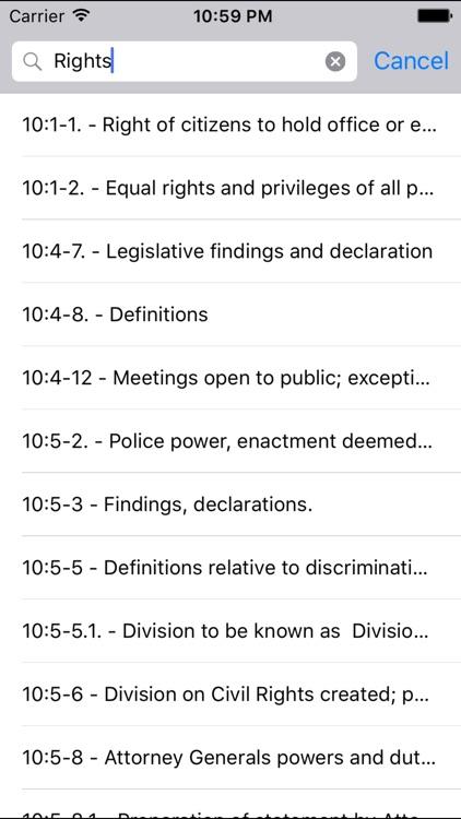 NJLaw - Title10 - Civil Rights