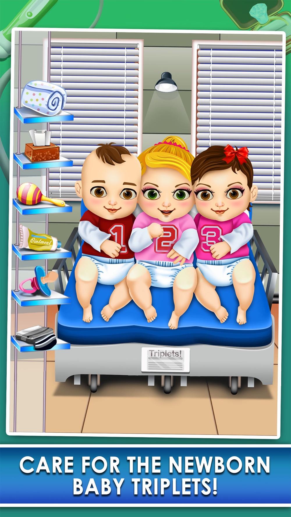 Triplet Baby Doctor Salon Spa