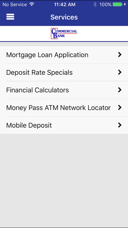 Commercial Bank Mobile Banking screenshot-3