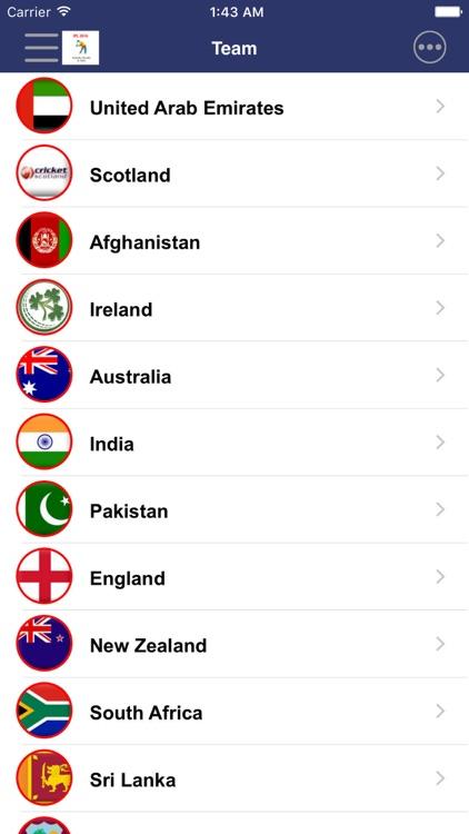 CricLive Cricket - Live Matches Score screenshot-4