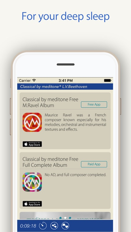 "Relax Classic ""L.v.Beethoven"" by meditone® screenshot-4"
