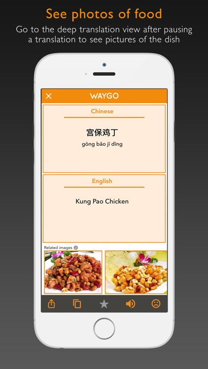 Waygo - Chinese, Japanese, and Korean Translator