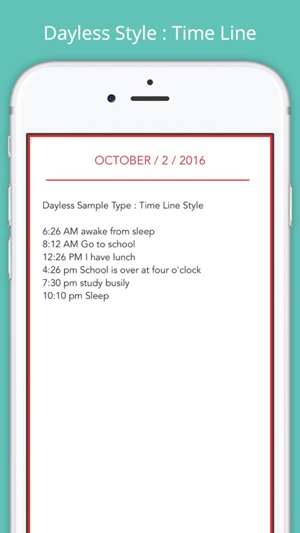 Dayless - Simple Diary App