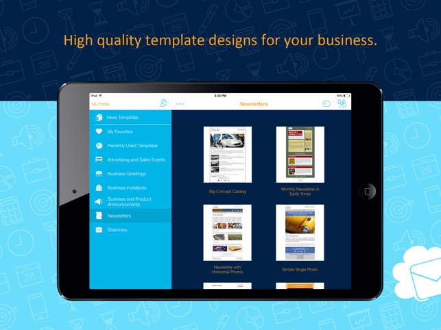 Business Email Templates For Salesforce On The App Store - Salesforce email templates