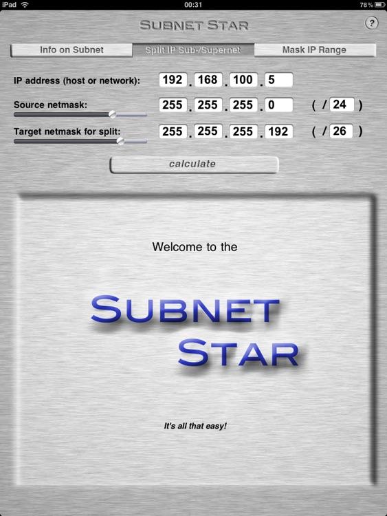 Subnet Star