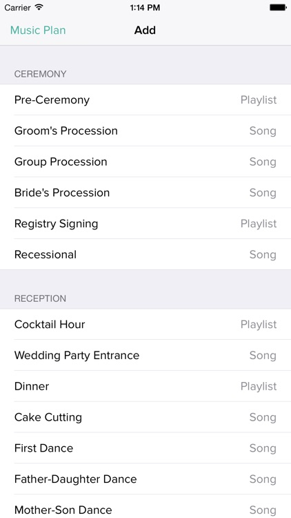 WeddingDJ - Plan and play your wedding music