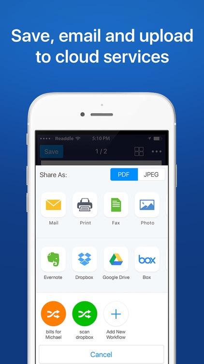 Scanner Pro - PDF document scanner app with OCR app image