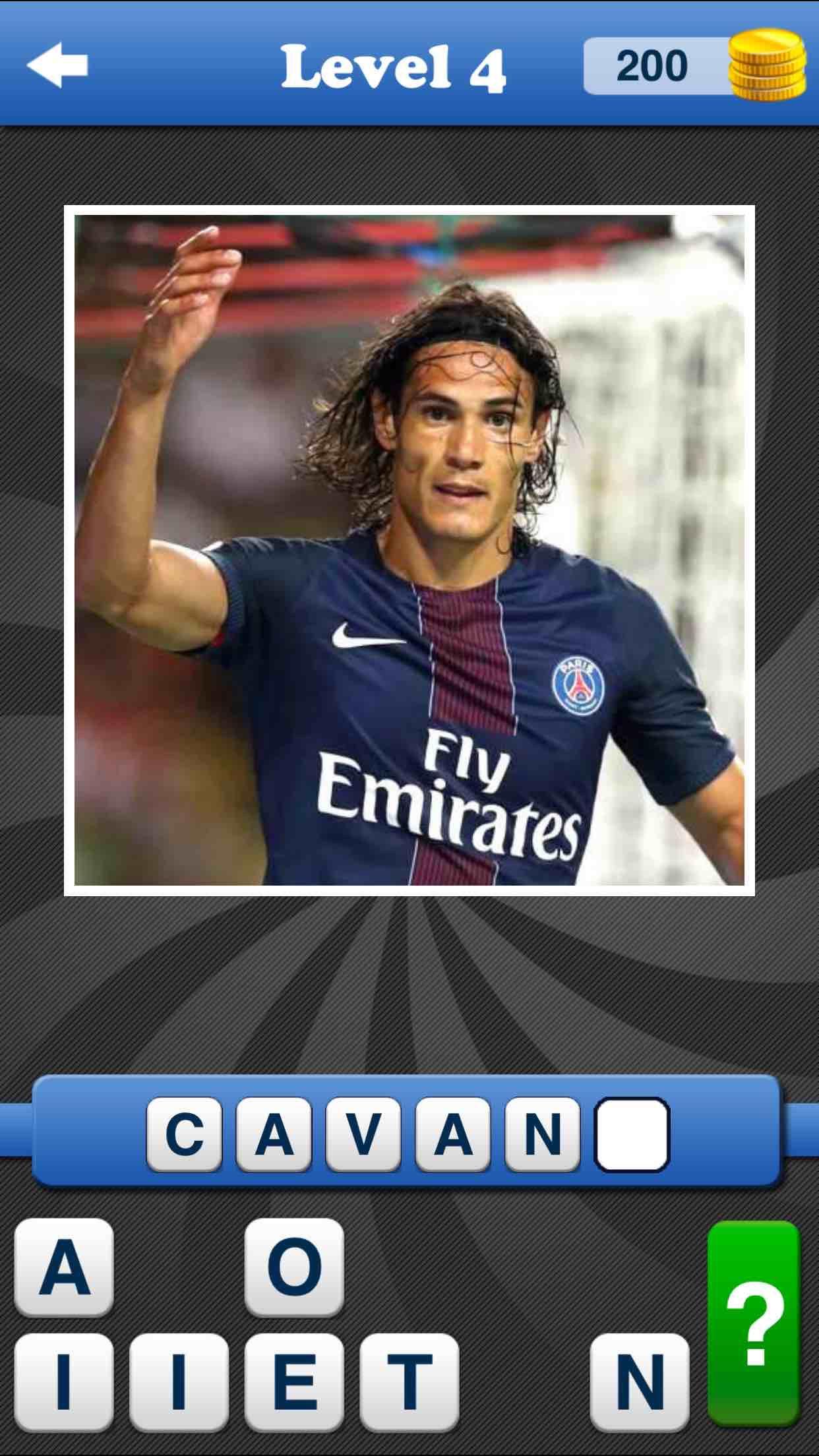 Whos the Player? Football Quiz Fifa 17 Soccer Game Screenshot