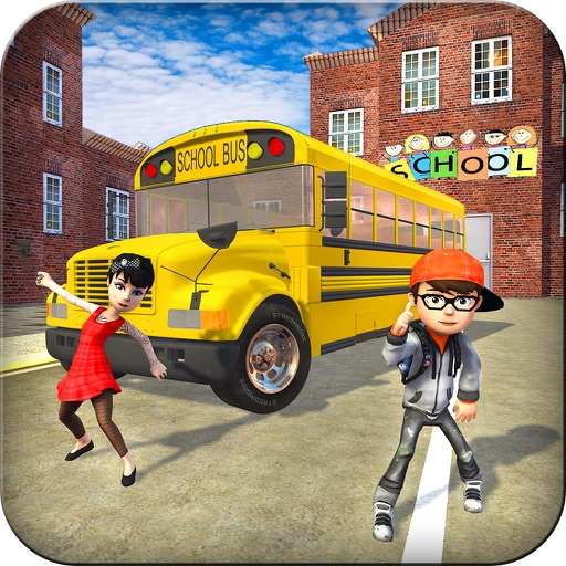 Crazy School Bus Transport Sim