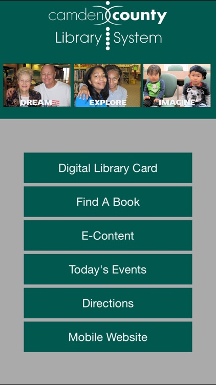 Camden County Library System Mobile