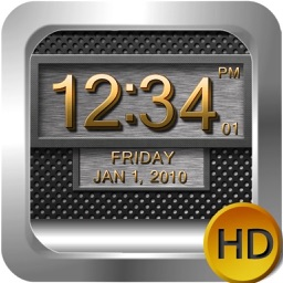 Clock 3D Metal HD