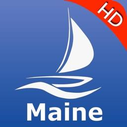 Maine GPS Nautical Charts Pro