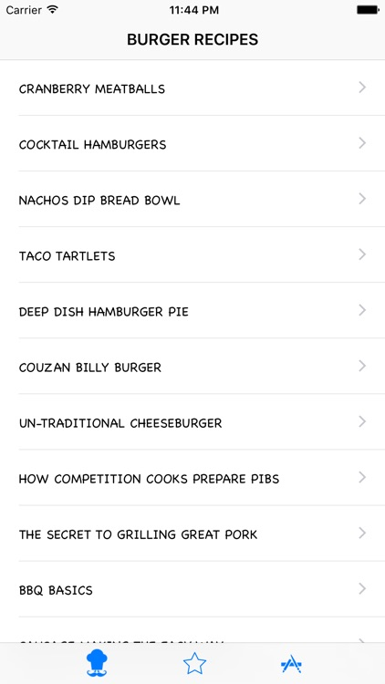 Burger Recipes HD screenshot-4