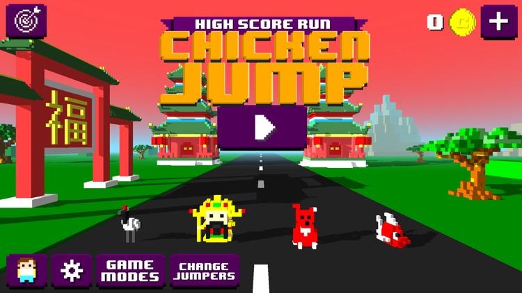 Chicken Jump - Crazy Traffic screenshot-0