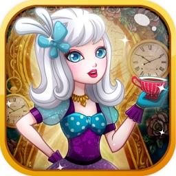 Princess sister of Dress-up Girl sweet salon game