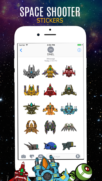 Space & Shooting Emojis screenshot 3