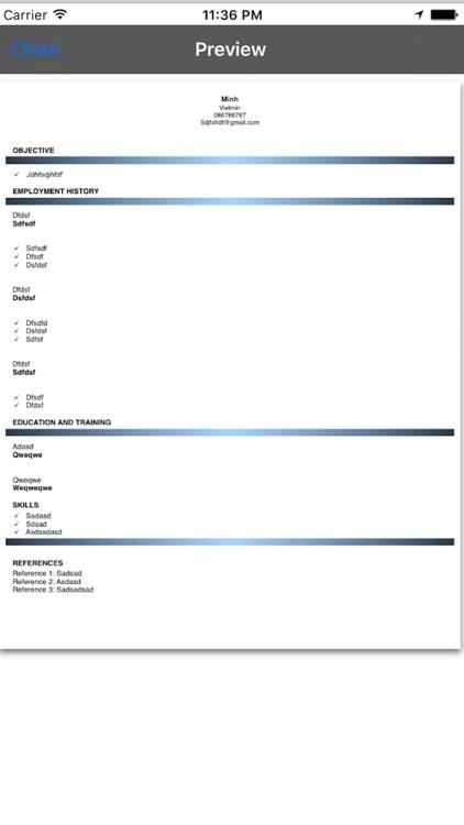 Resume Builder screenshot-4