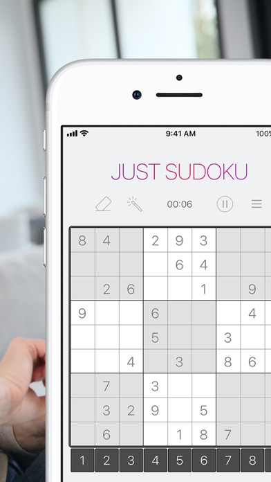 Just Sudoku: Puzzle Logic Game Скриншоты4