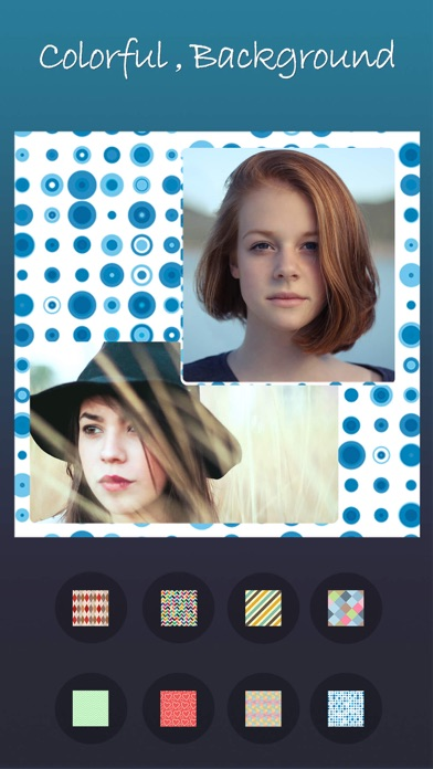 Photo Collage-photo editor,grid collage,collages Screenshot on iOS