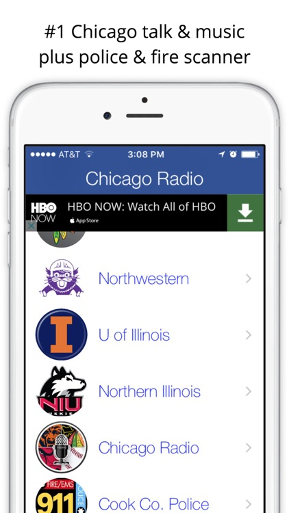 Chicago GameDay Radio for Live Sports, News, and Music – Bulls, Bears, and Blackhawk Edition screenshot-3