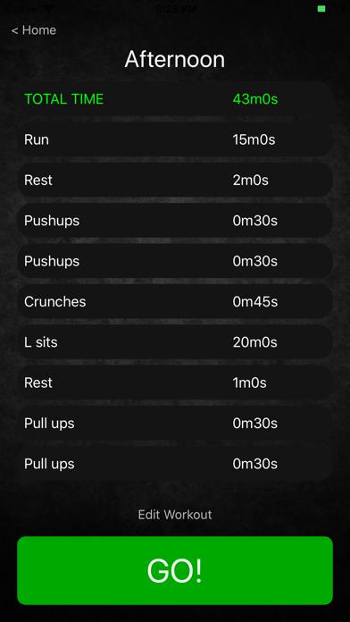 My Workout Manager screenshot #4