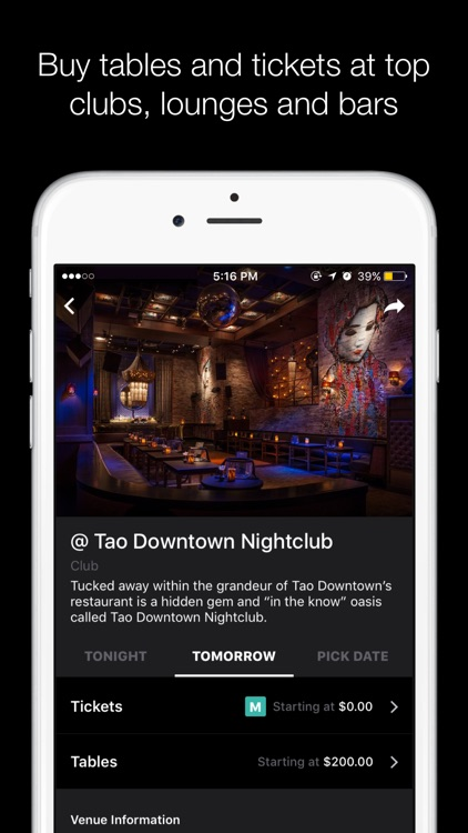 Tablelist − A Better Night Out screenshot-3