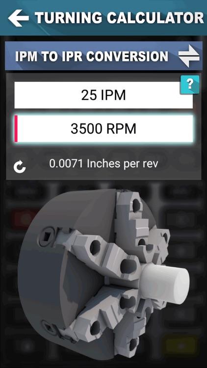 CNC Machinist Calculator Pro screenshot-4