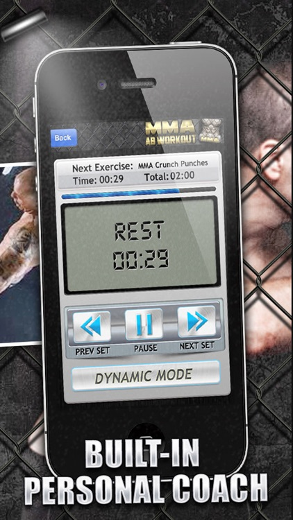 Ab Workouts MMA+ FREE Core Strength Abdominal Flex screenshot-2