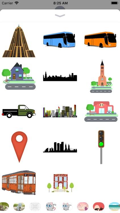 City Stickers - Sid Y