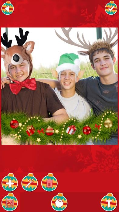 クリスマス 写真 編集者 - サンタ クロース フォト モンタージュ カメラ ステッカー フリー紹介画像3