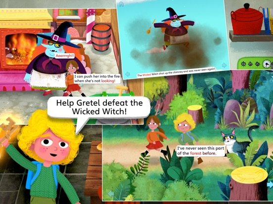 Hansel and Gretel by Nosy Crow screenshot 10