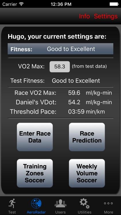 AeroExaminer - Aerobic VO2 Max Test & Conditioning screenshot-4