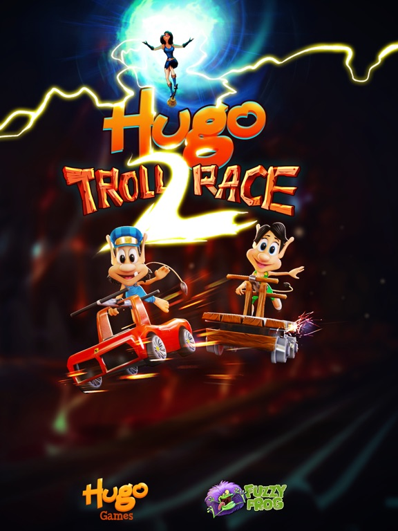 Скачать Hugo Troll Race 2.