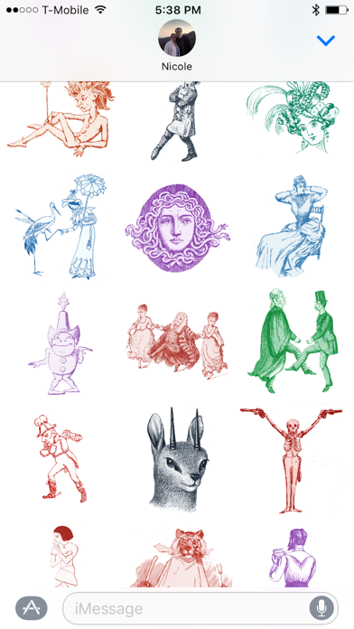 Old-Timey Vintage Stickers