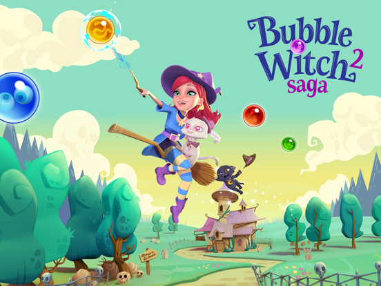 Игра Bubble Witch 2 Saga
